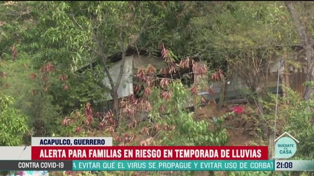 FOTO: 14 de junio 2020, suspenden censo de viviendas de alto riesgo por lluvias en acapulco