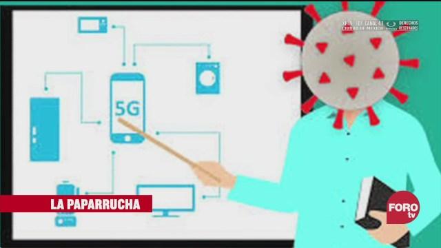 Tecnología 5G transmite el COVID-19, la paparrucha del día