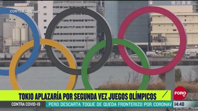 FOTO: tokio podria aplazar por segunda vez los juegos olimpicos
