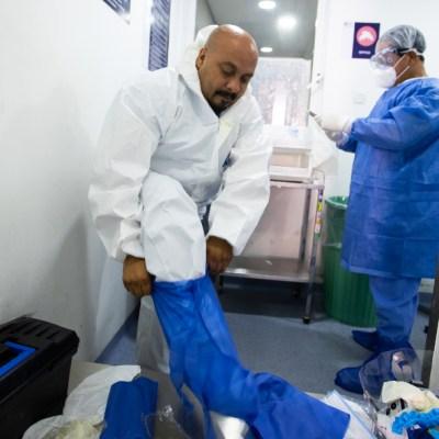 FOTO: Confirman contagio de tres trabajadores del Hospital General de Tampico, el 6 de junio de 2020