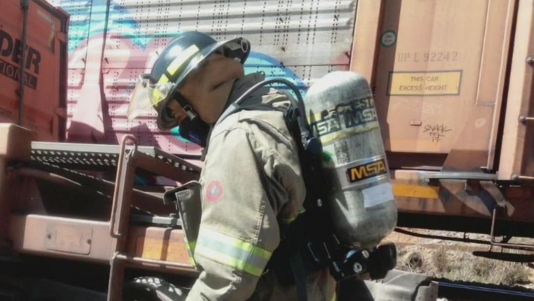 FOTO: Se descarrilan 10 vagones de tren en Zacatecas, el 14 de junio de 2020