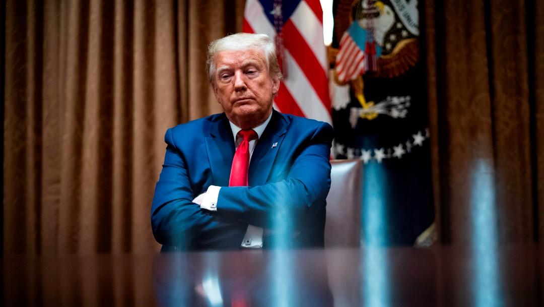 Trump cambia fecha de primer mitin por polémica racista