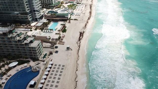 Turismo en playas de Cancún, Quintana Roo. Cuartoscuro