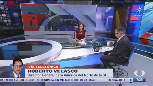 Entrevista con Roberto Velasco, director para América del Norte de la SRE, para Despierta
