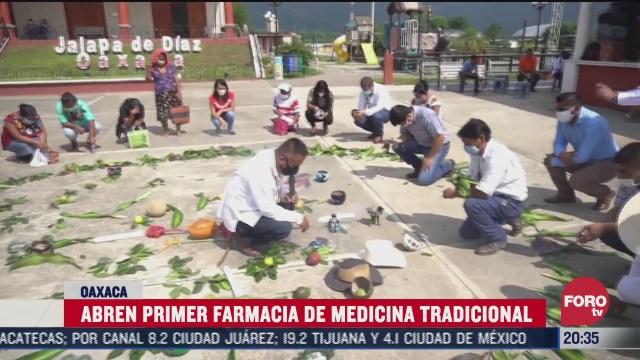abren farmacia de medicina tradicional en san felipe jalapa oaxaca