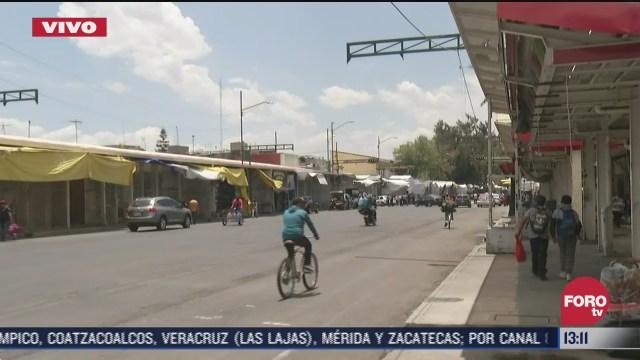FOTO: 12 de julio 2020, actividad comercial de tepito es suspendida por tres dias debido a brigada de sanitizcion