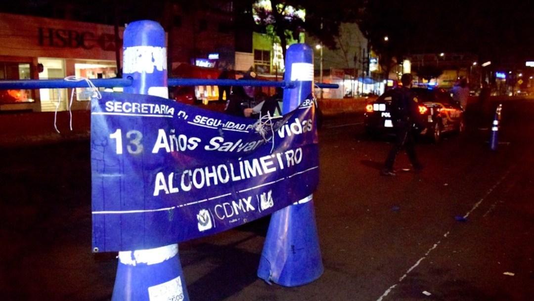 Alcoholímetro regresa gradualmente a la Ciudad de México