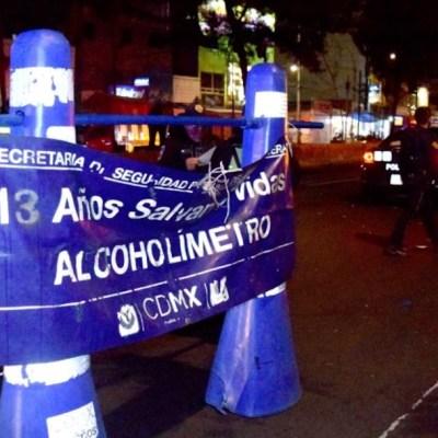 Alcoholímetro regresa de forma gradual a la Ciudad de México