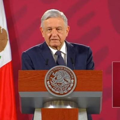 El presidente de México, Andrés Manuel López Obrador, en conferencia de prensa matutina