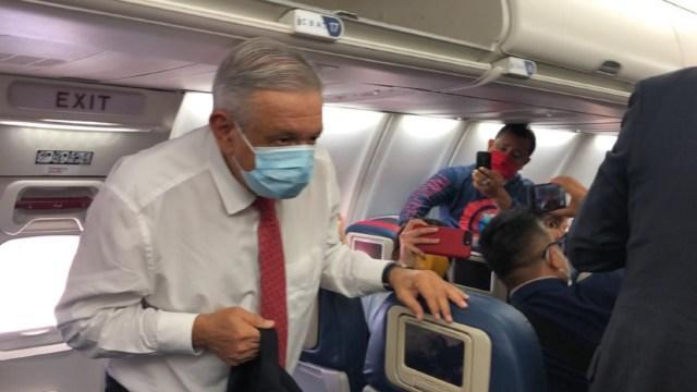 AMLO llega a Washington, EEUU, para su primera visita de trabajo