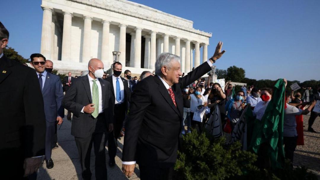 El presidente de México, Andrés Manuel López Obrador, inició sus actividades de gira en EEUU.