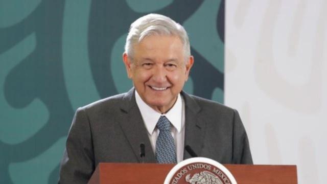 Andrés Manuel López Obrador en conferencia desde Guanajuato