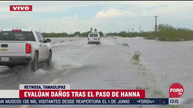aun se resienten los estragos ocasionados por hanna en reynosa tamaulipas
