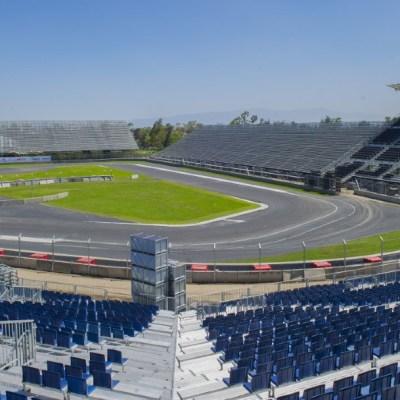 Autódromo Hermanos Rodríguez se convertirá en el Autocinema Mixhuca