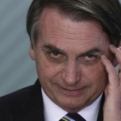 Jair Bolsonaro, presidente de Brasil, da positivo a COVID-19