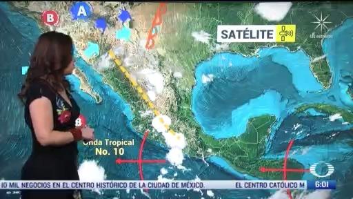 canal de baja presion y linea seca provocaran lluvias en gran parte de mexico