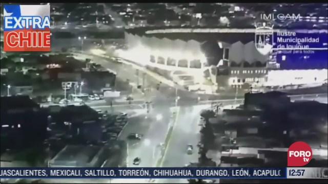 captan imagenes de un sismo en chile