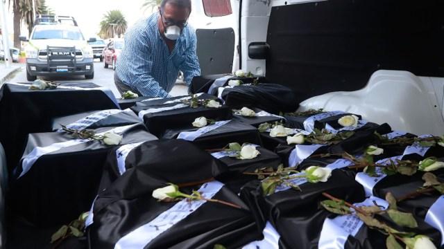 casos de coronavirus y muertos en mexico