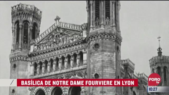 catedrales del mundo catedral de notre dame fourviere en lyon
