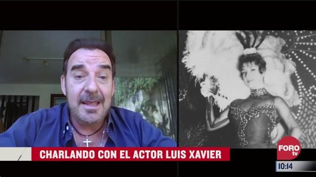 charlando con el actor luis xavier