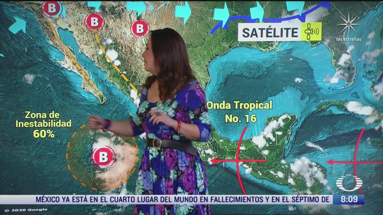 clima al aire preven lluvias en la ciudad de mexico