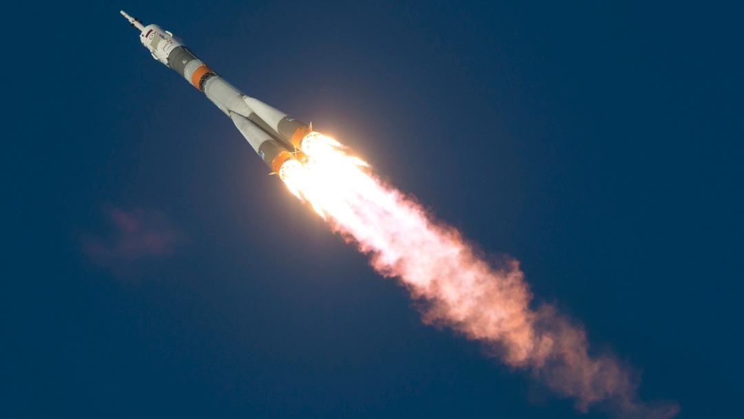 Cohete disparado desde la Franja de Gaza