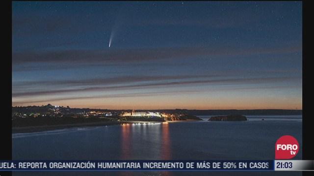 Cometa Neowise será visible en la Tierra a partir del 15 de julio sin telescopio