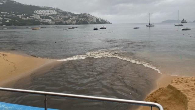 Conagua denuncia a Comisión de Agua de Acapulco por verter agua residual al mar