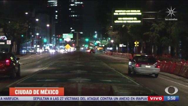 conductor de taxi salva la vida a muer en avenida chapultepec en cdmx