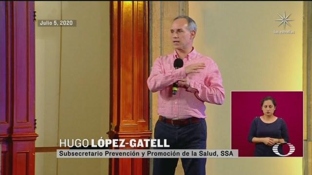 Hugo López Gatell informó que en la conferencia de prensa de las noches ya dará los números de referencia sobre la evolución de la pandemia