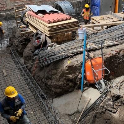 La caída en la inversión fija bruta fue por una reducción del 36.2 % interanual en la construcción