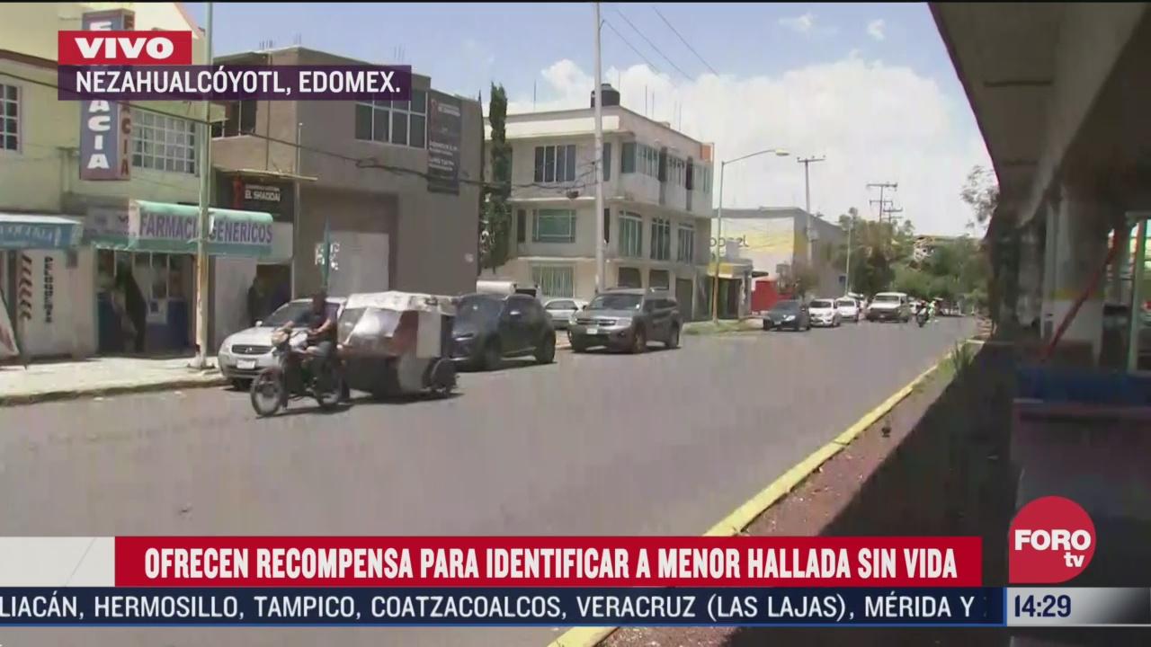 continua investigacion para identificar a nina hallada sin vida en nezahualcoyotl