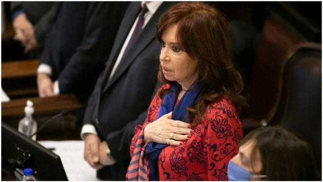 Cristina Fernández en evento