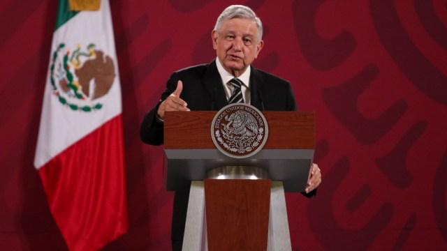 El presidente Andrés Manuel López Obrador en conferencia de prensa. (Foto: Cuartoscuro)