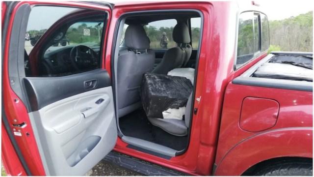 Decomisan cocaína en Quintana Roo