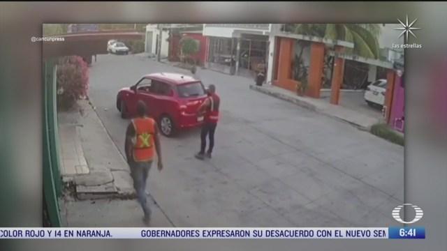 delincuentes ingresan a casa en cancun