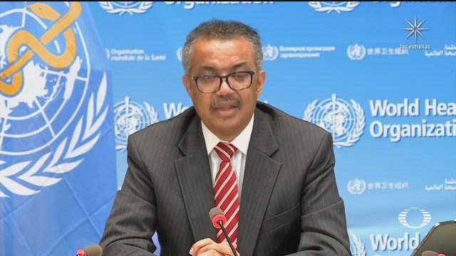 Tedros Adhanom director de la oms llama a la solidaridad mundial ante la pandemia