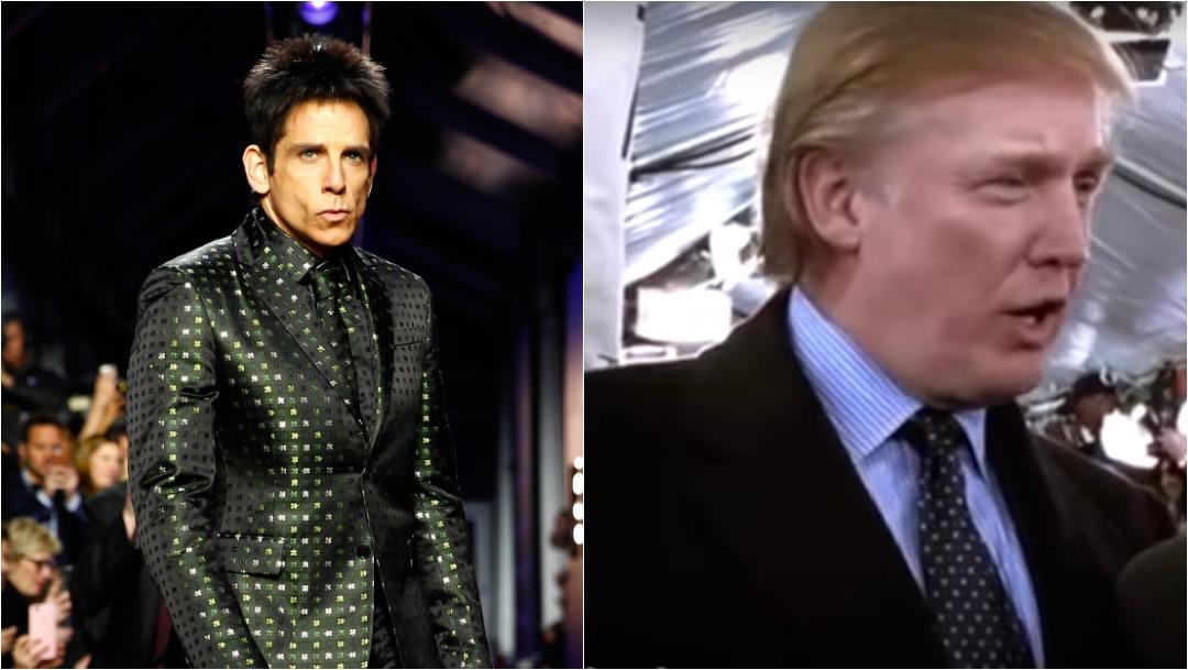 Donald Trump Aparición Zoolander, Ben Stiller, Foto