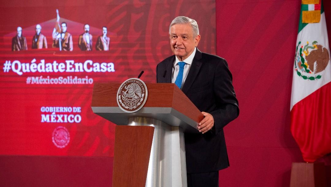 El presidente de Méixco, López Obrador
