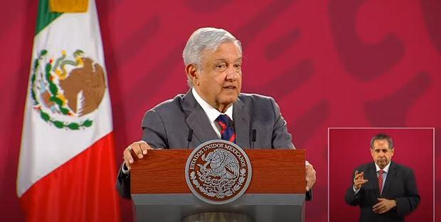 El presidente de México, Andrés Manuel López Obrador, en conferencia matutina.