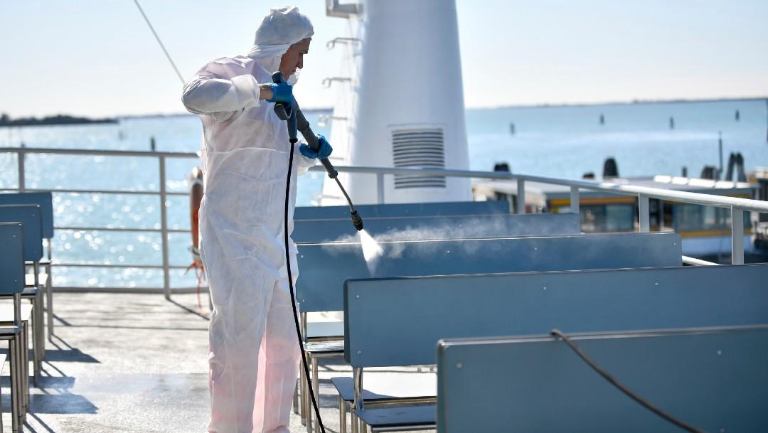 El Vaticano recuerda a los trabajadores marítimos afectados por la pandemia. FOTO AP