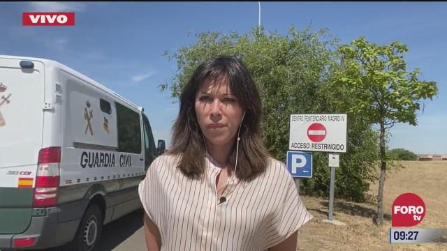 emilio lozoya abandona carcel espanola y se dirige al aeropuerto de madrid