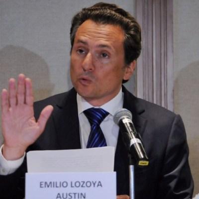 emilio lozoya exdirector de pemex en conferencia de prensa
