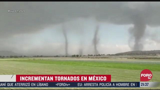 incremento de tornados en México