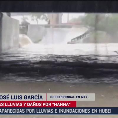 En Monterrey no habrá transporte público ni atención en módulos COVID tras paso de 'Hanna'