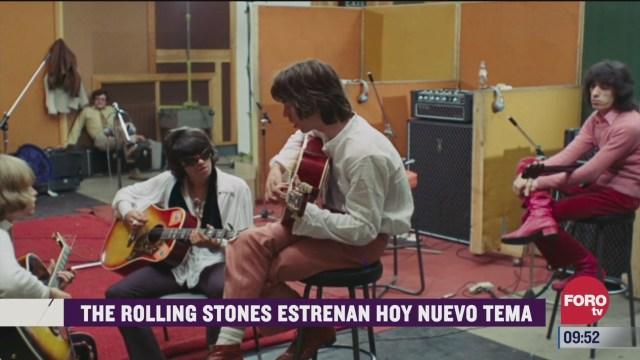 espectaculosenexpreso the rolling stones estrenan nuevo tema
