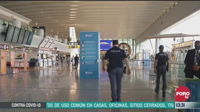 estrictos controles sanitarios en aeropuertos de italia