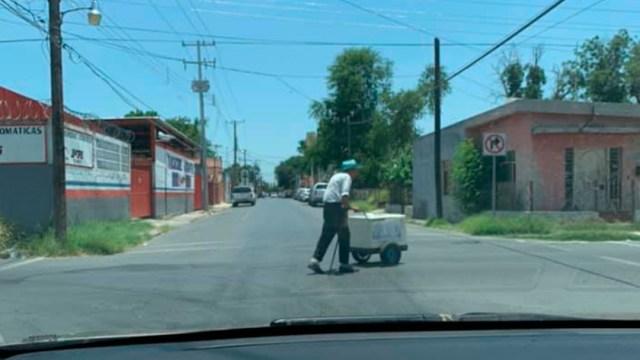 Abuelito recibe ayuda en Tamaulipas por publicación en redes sociales