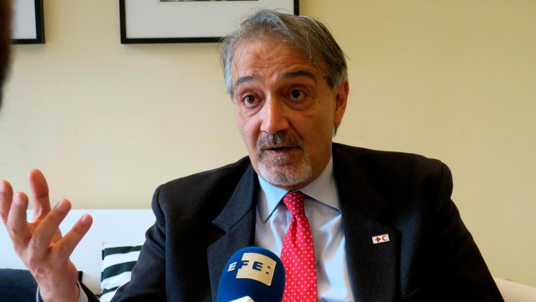 Francesco Rocca, presidente de la Federación Internacional de la Cruz Roja
