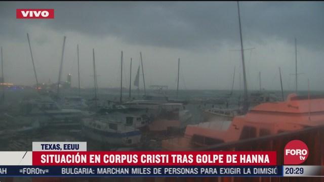 FOTO: 25 de julio 2020, fuertes vientos se sienten en corpus cristi texas